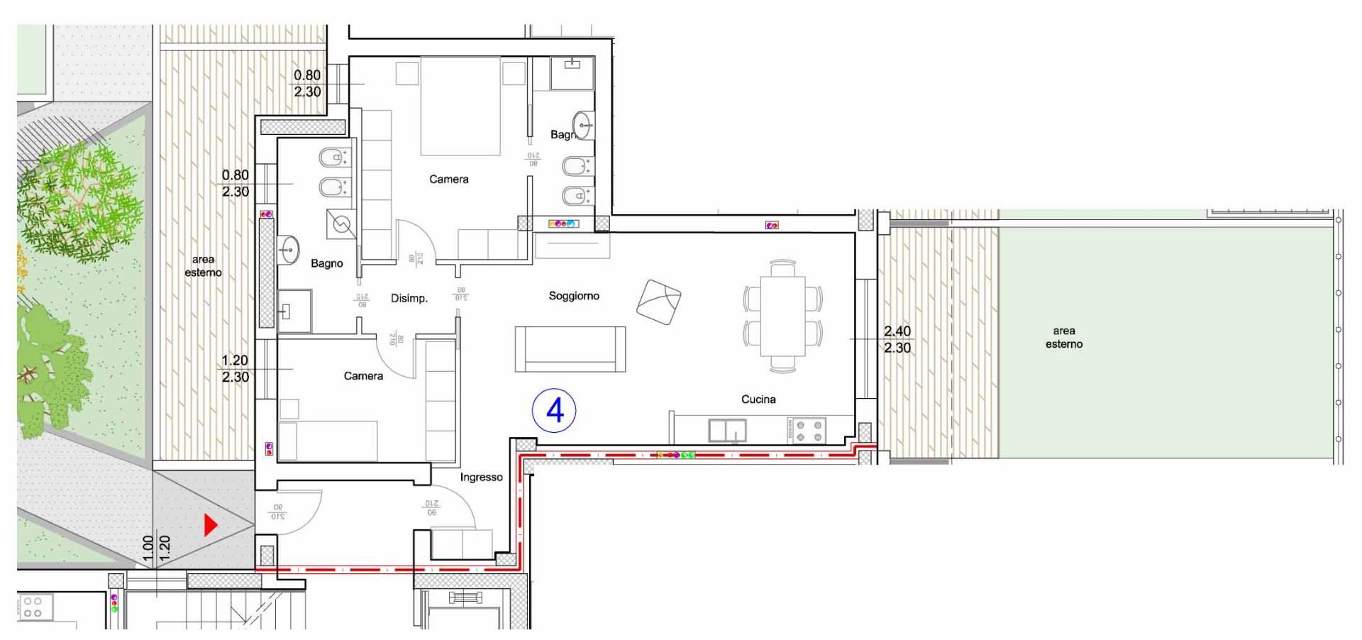 Appartamento in Vendita a Verona Semicentro Nord: 3 locali, 105 mq
