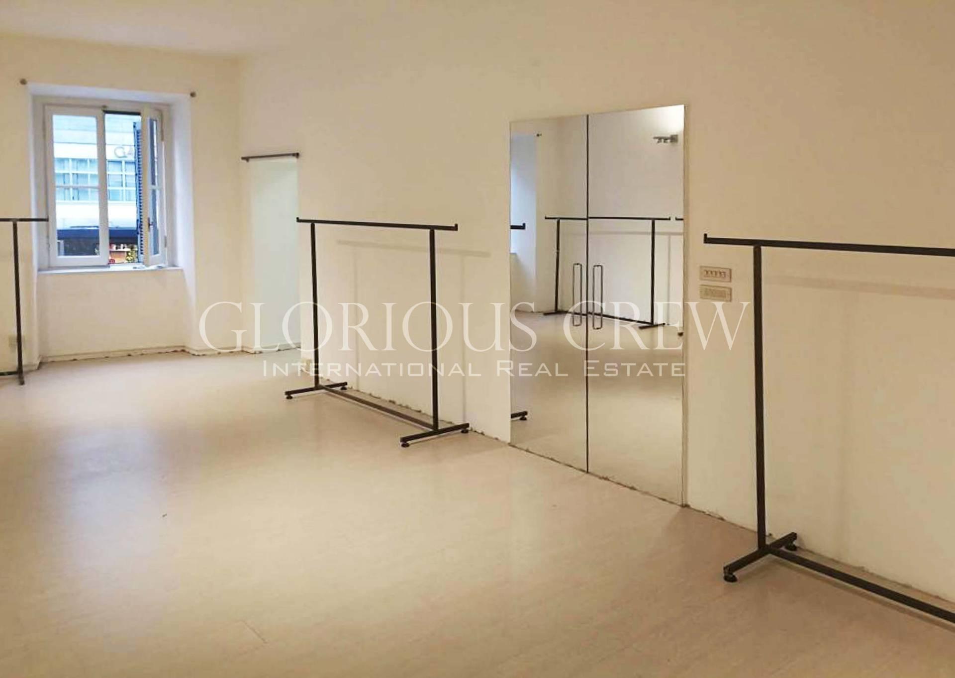 Ufficio-studio in Affitto a Milano 01 Centro storico (Cerchia dei Navigli): 3 locali, 90 mq