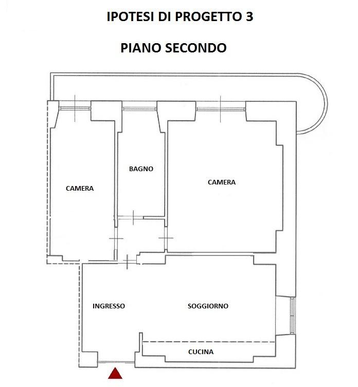 Appartamento in Vendita a Roma 06 Nuovo / Salario / Prati fiscali: 2 locali, 80 mq