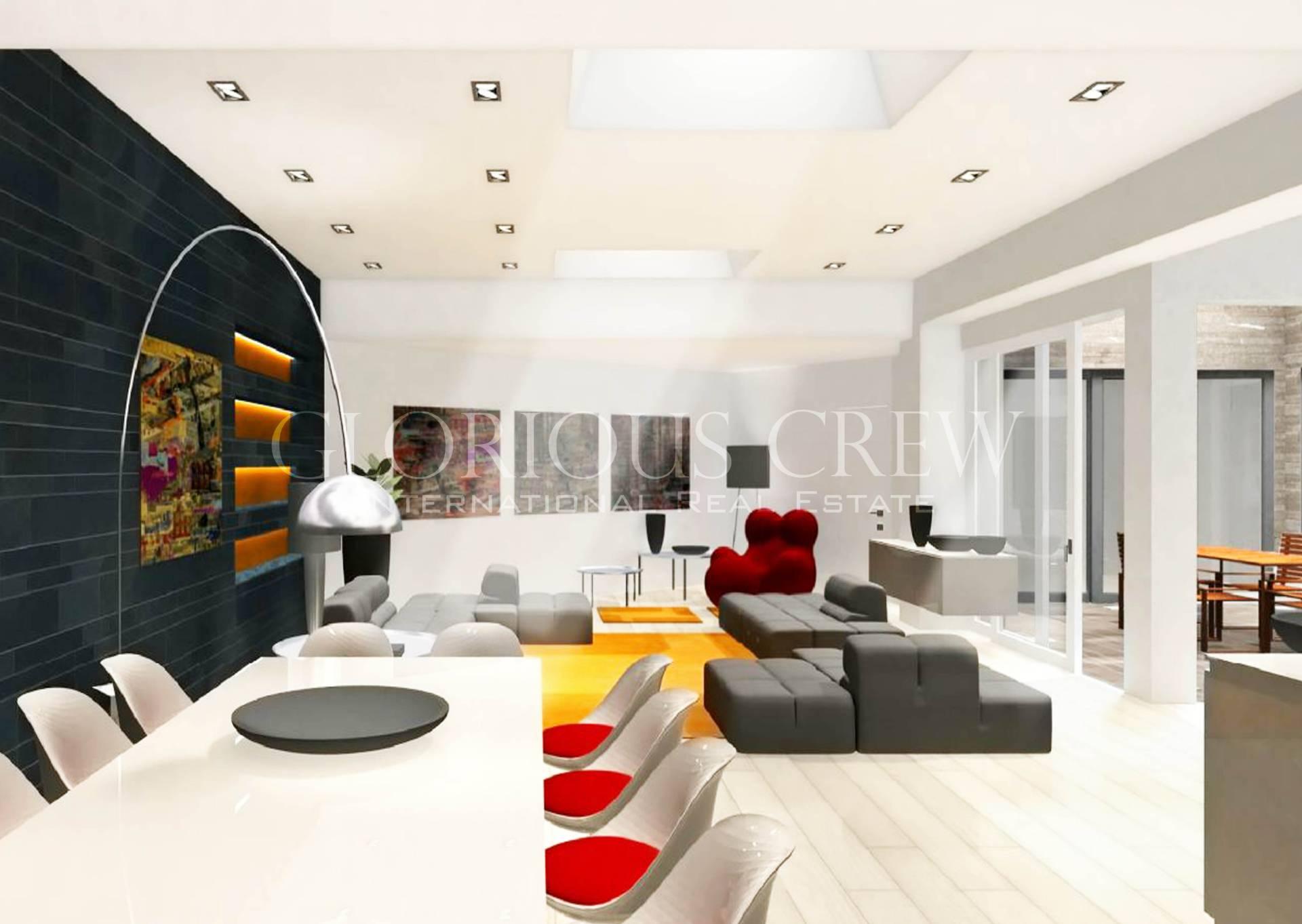 Loft open space in Vendita a Milano 26 Bande Nere / Zurigo / Parri: 5 locali, 360 mq