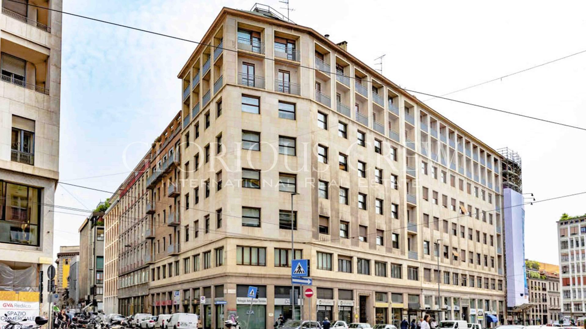 Ufficio-studio in Affitto a Milano 01 Centro storico (Cerchia dei Navigli):  3 locali, 72 mq  - Foto 1