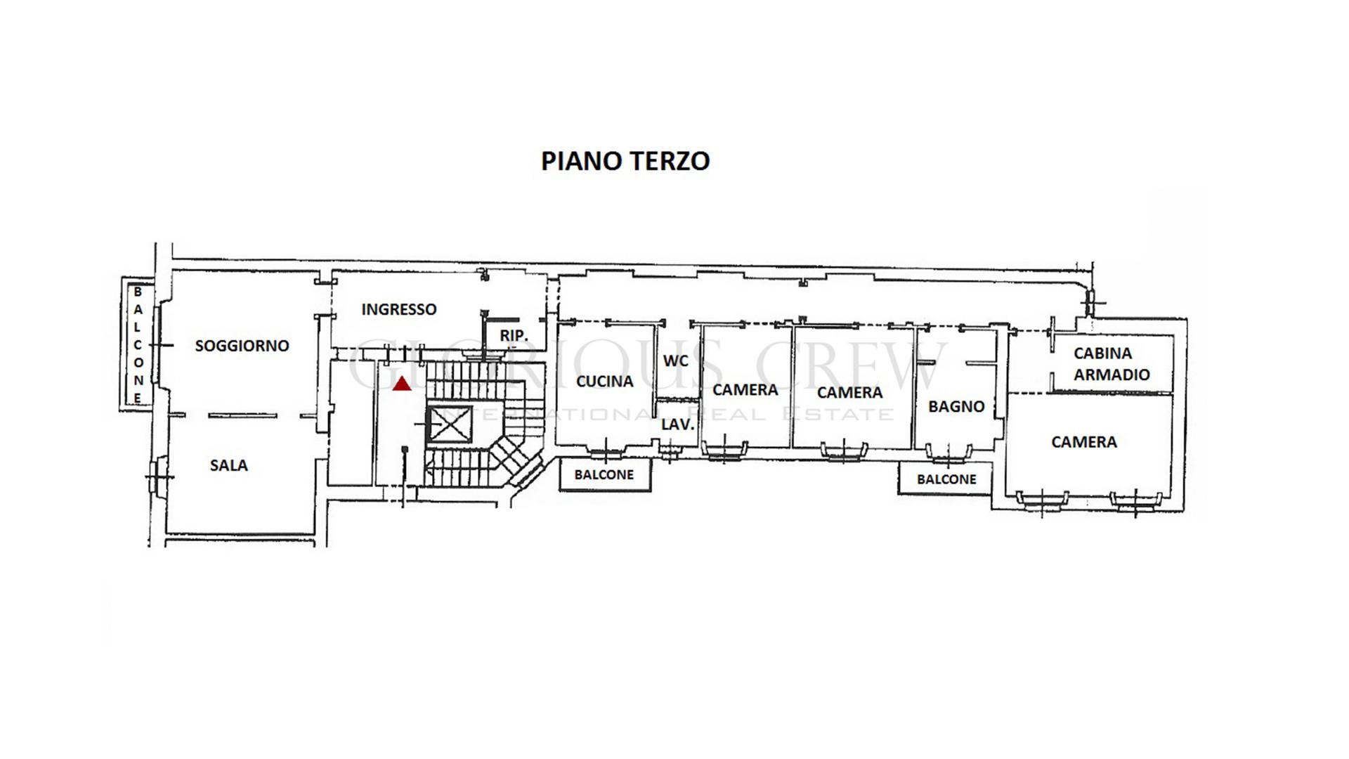 Appartamento in Vendita a Milano: 5 locali, 230 mq - Foto 16