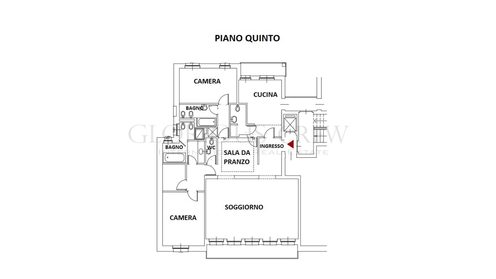 Appartamento in Vendita a Milano: 4 locali, 200 mq - Foto 13