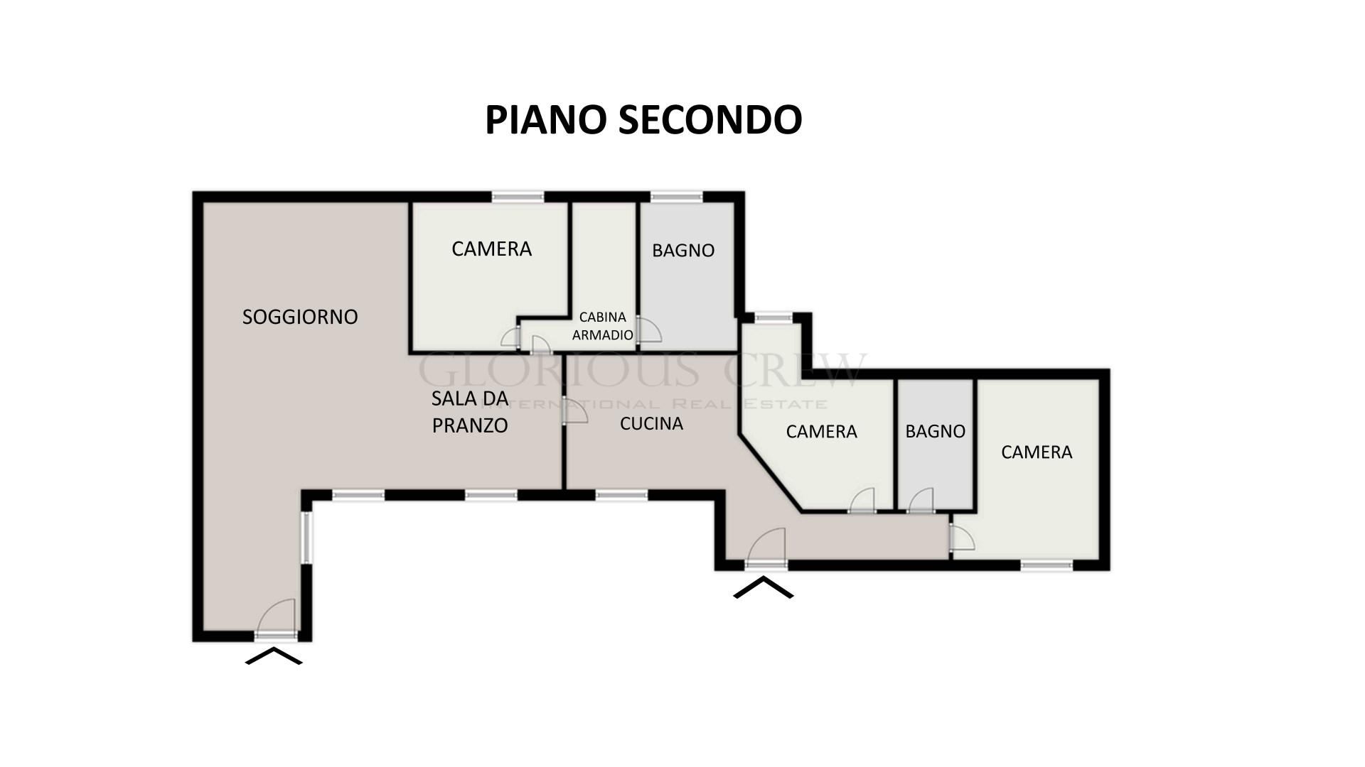Appartamento in Vendita a Milano: 4 locali, 129 mq - Foto 16