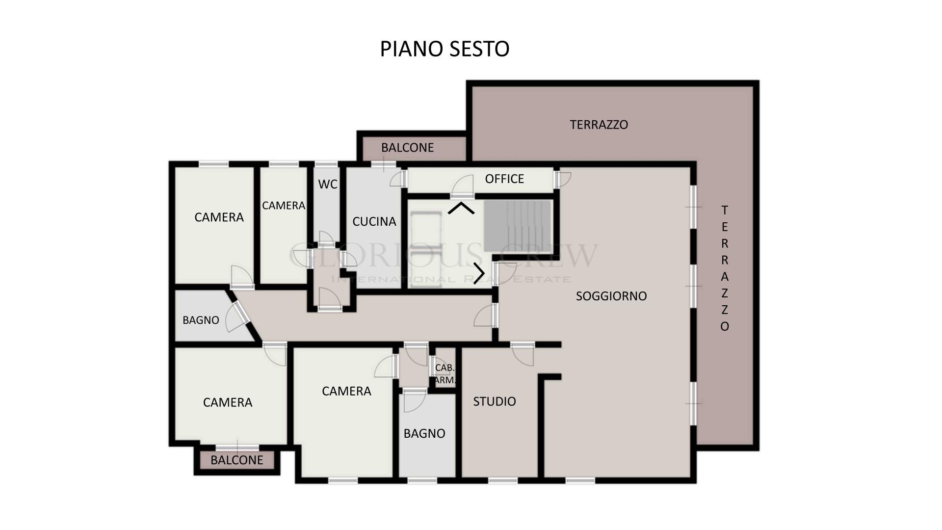 Appartamento in Vendita a Milano: 5 locali, 285 mq - Foto 15