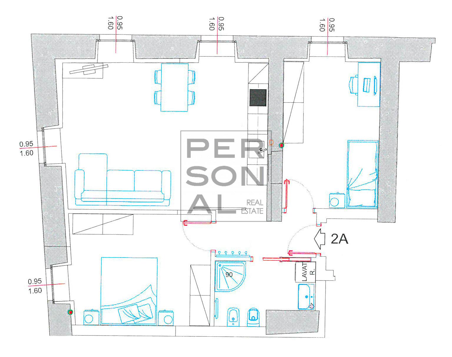 Appartamento in Affitto a Trento - Cod. XP-AFF-2A