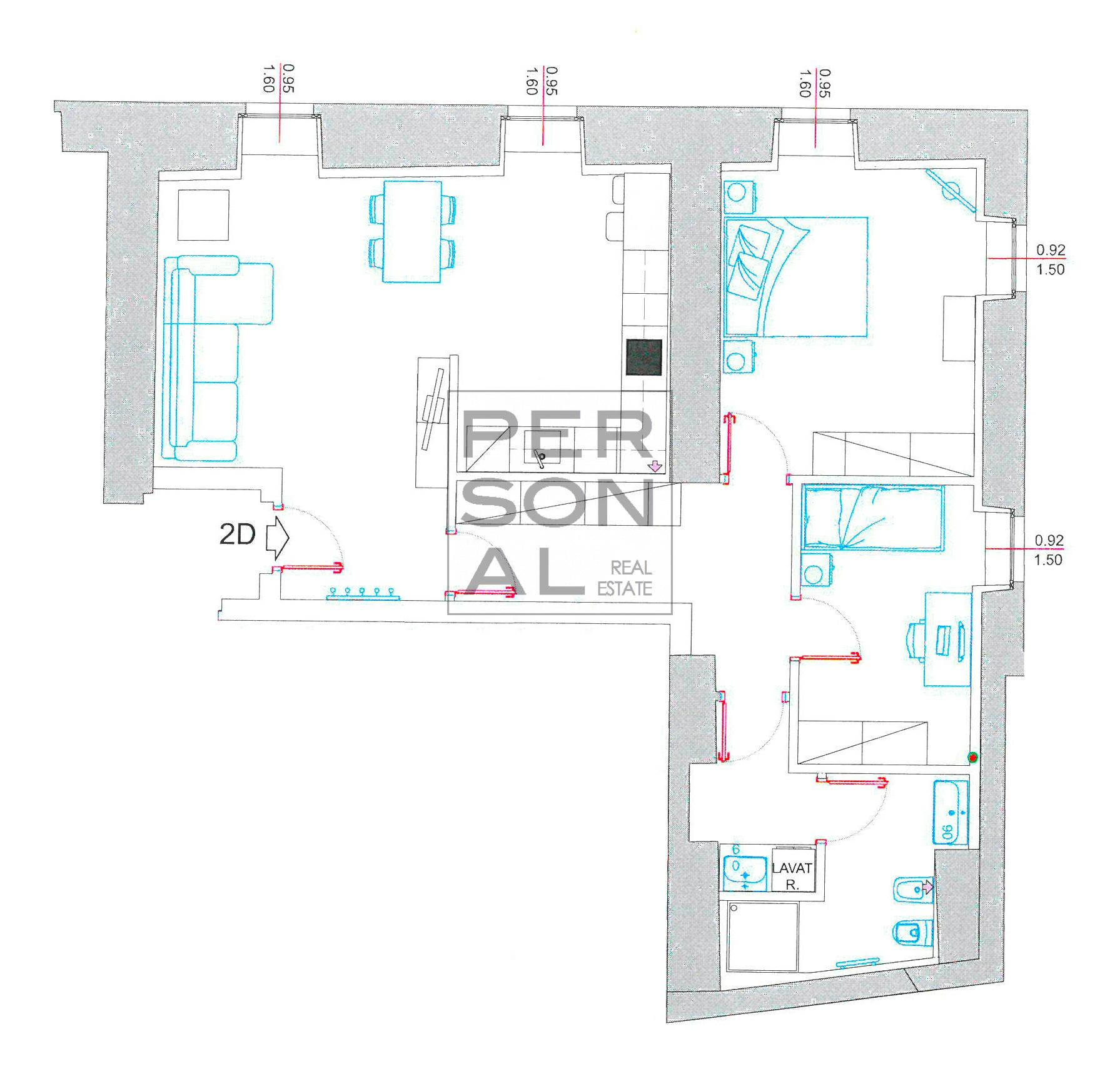 Appartamento in Affitto a Trento - Cod. XP-AFF-2D