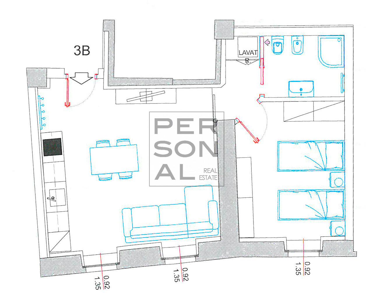 Appartamento in Affitto a Trento - Cod. XP-AFF-3B