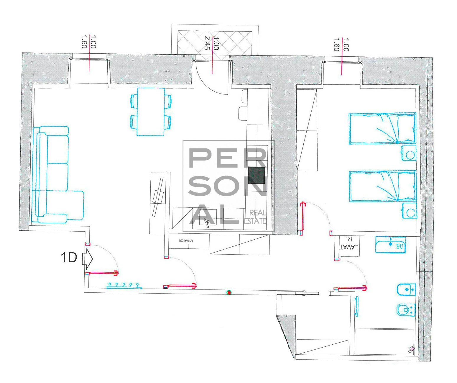 Appartamento in Affitto a Trento - Cod. XP-AFF-1D