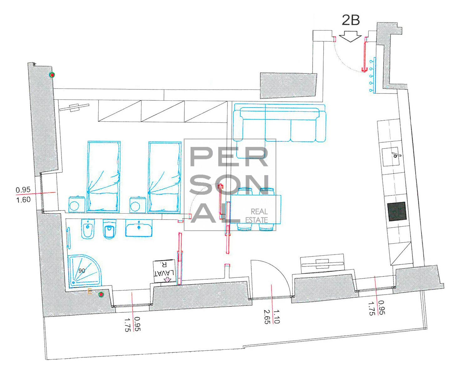 Appartamento in Affitto a Trento - Cod. XP-AFF-2B