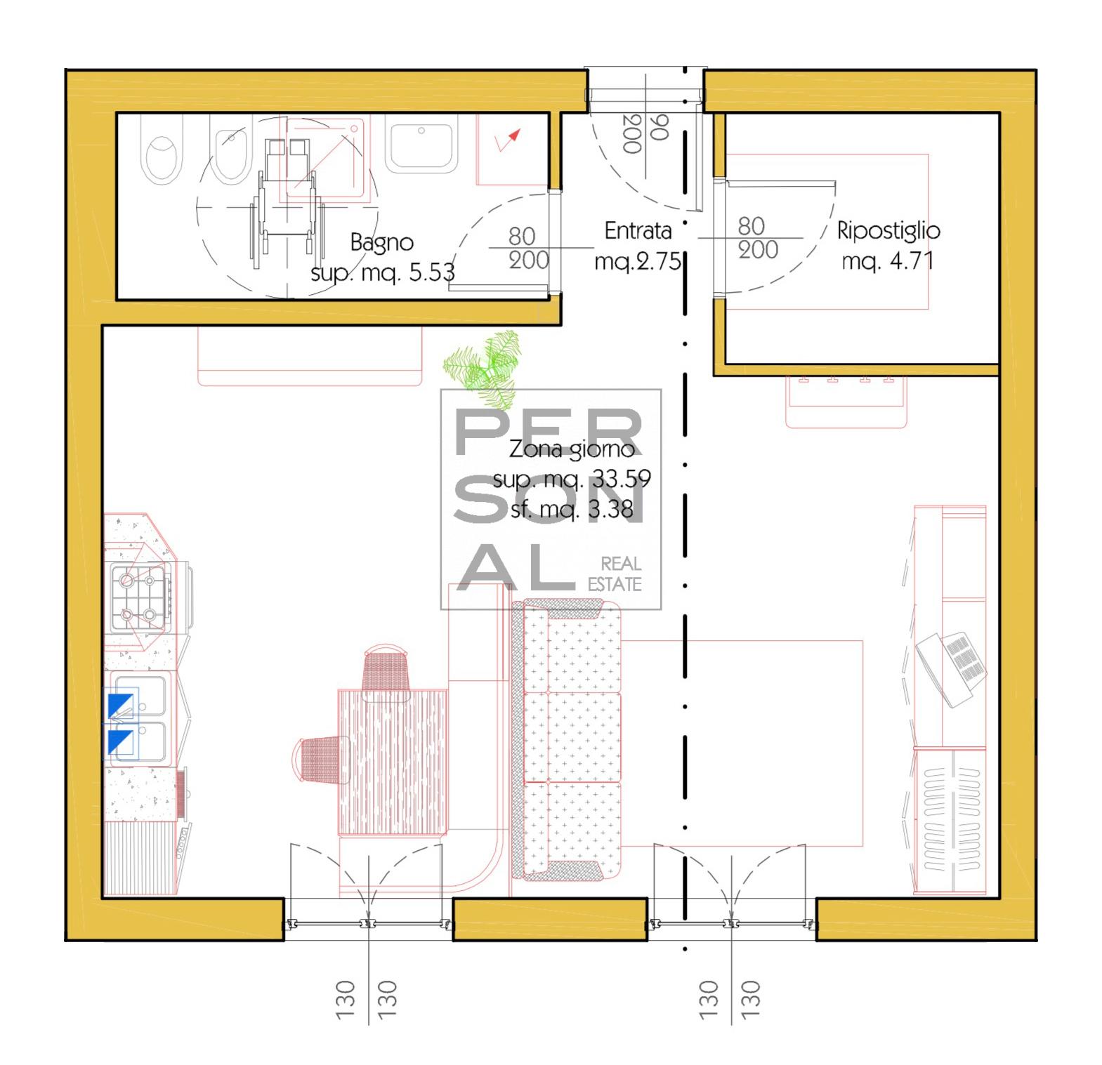 Appartamento in affitto a Cavedine, 3 locali, prezzo € 400 | CambioCasa.it