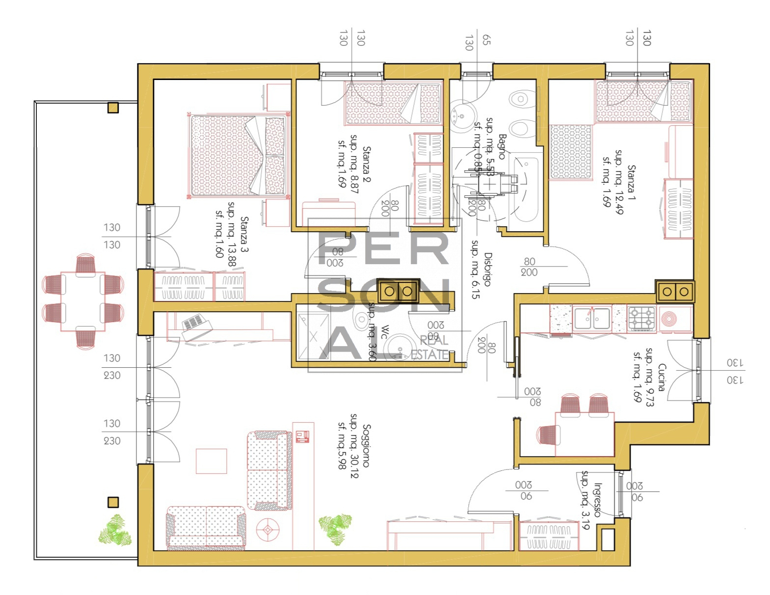 Appartamento in affitto a Cavedine, 6 locali, prezzo € 650 | CambioCasa.it