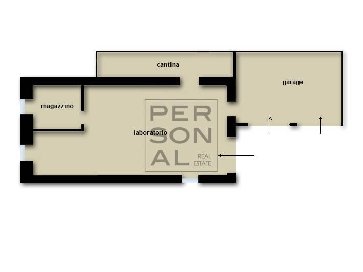 Foto porzione di casa in vendita a Trento (Trento)