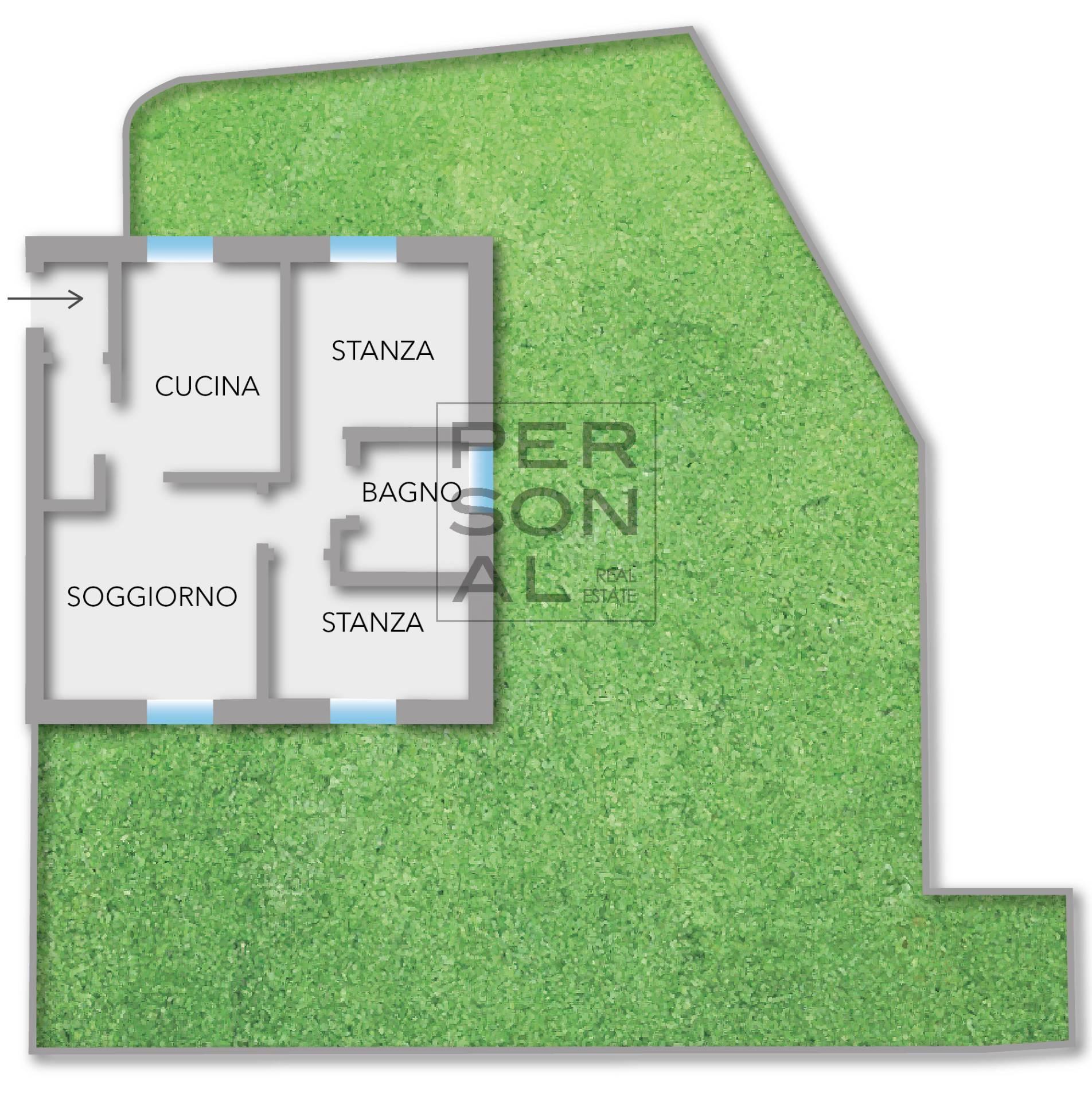 Appartamento in vendita a Roncegno Terme, 3 locali, prezzo € 180.000 | CambioCasa.it