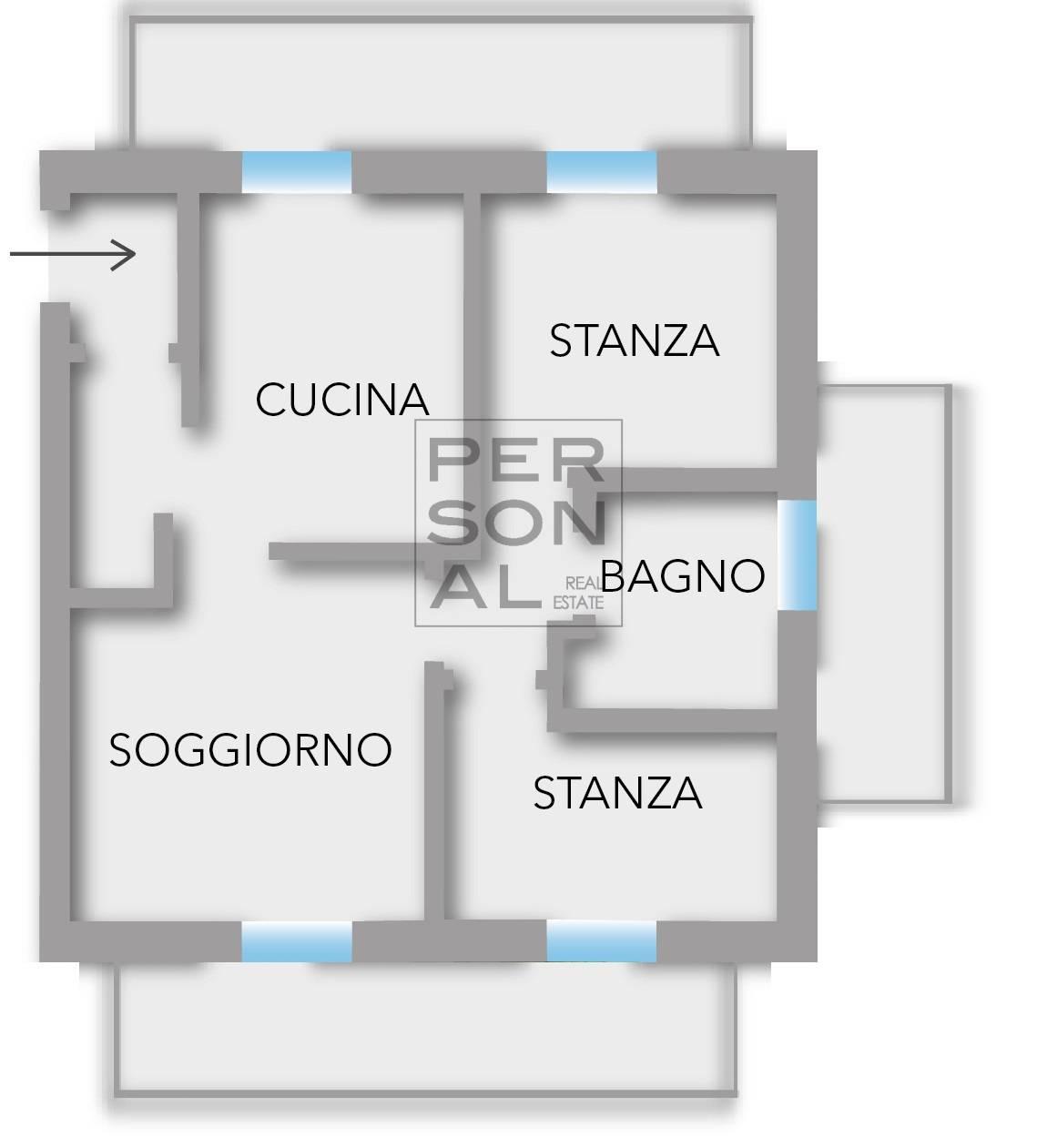 Appartamento in vendita a Roncegno Terme, 3 locali, prezzo € 150.000 | CambioCasa.it