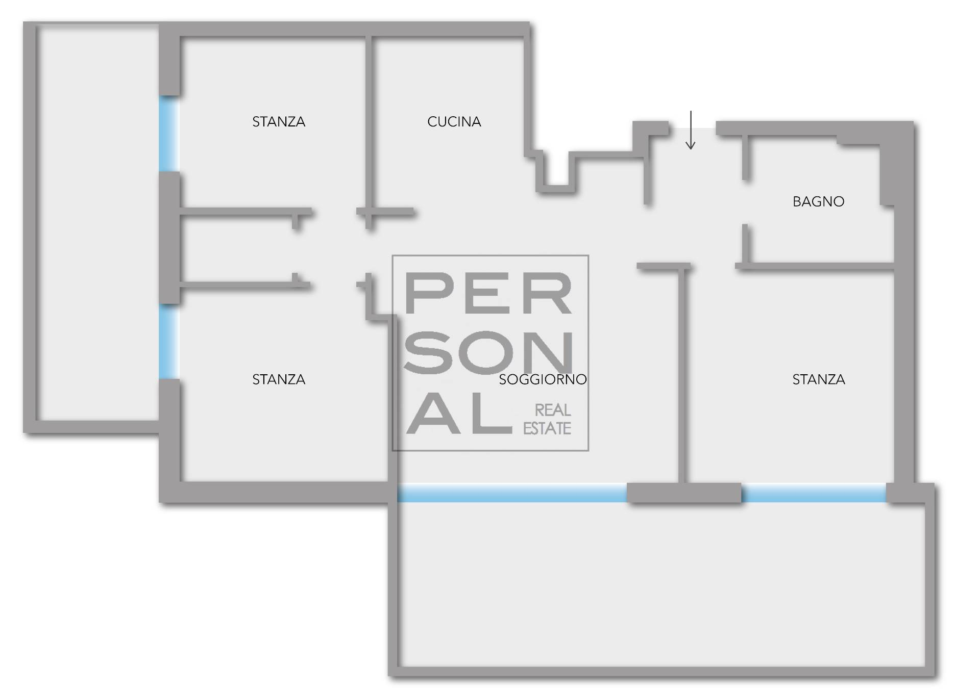 Appartamento in affitto a Besenello, 5 locali, prezzo € 800 | CambioCasa.it