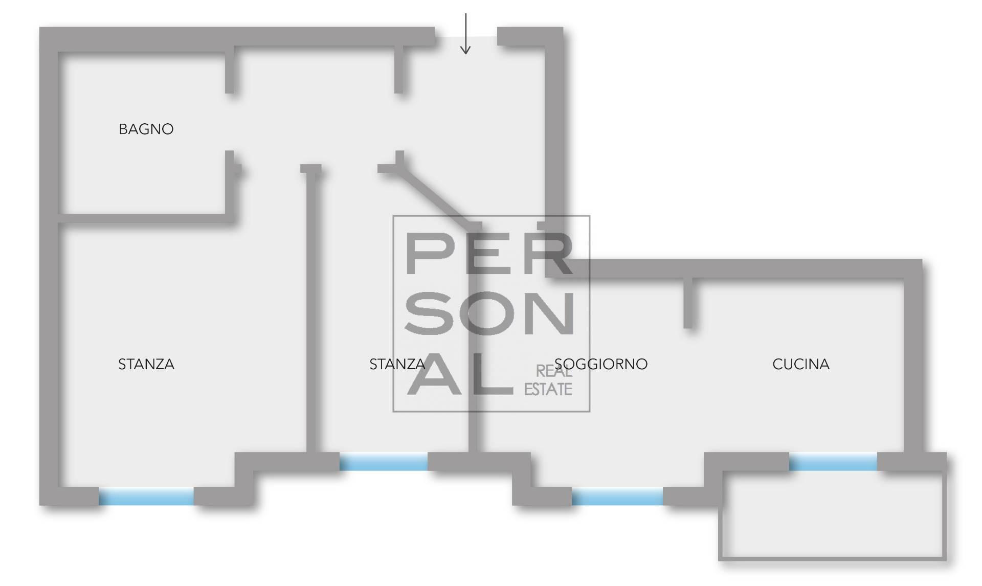 Appartamento in affitto a San Michele all'Adige, 3 locali, zona Zona: Grumo, prezzo € 600   CambioCasa.it