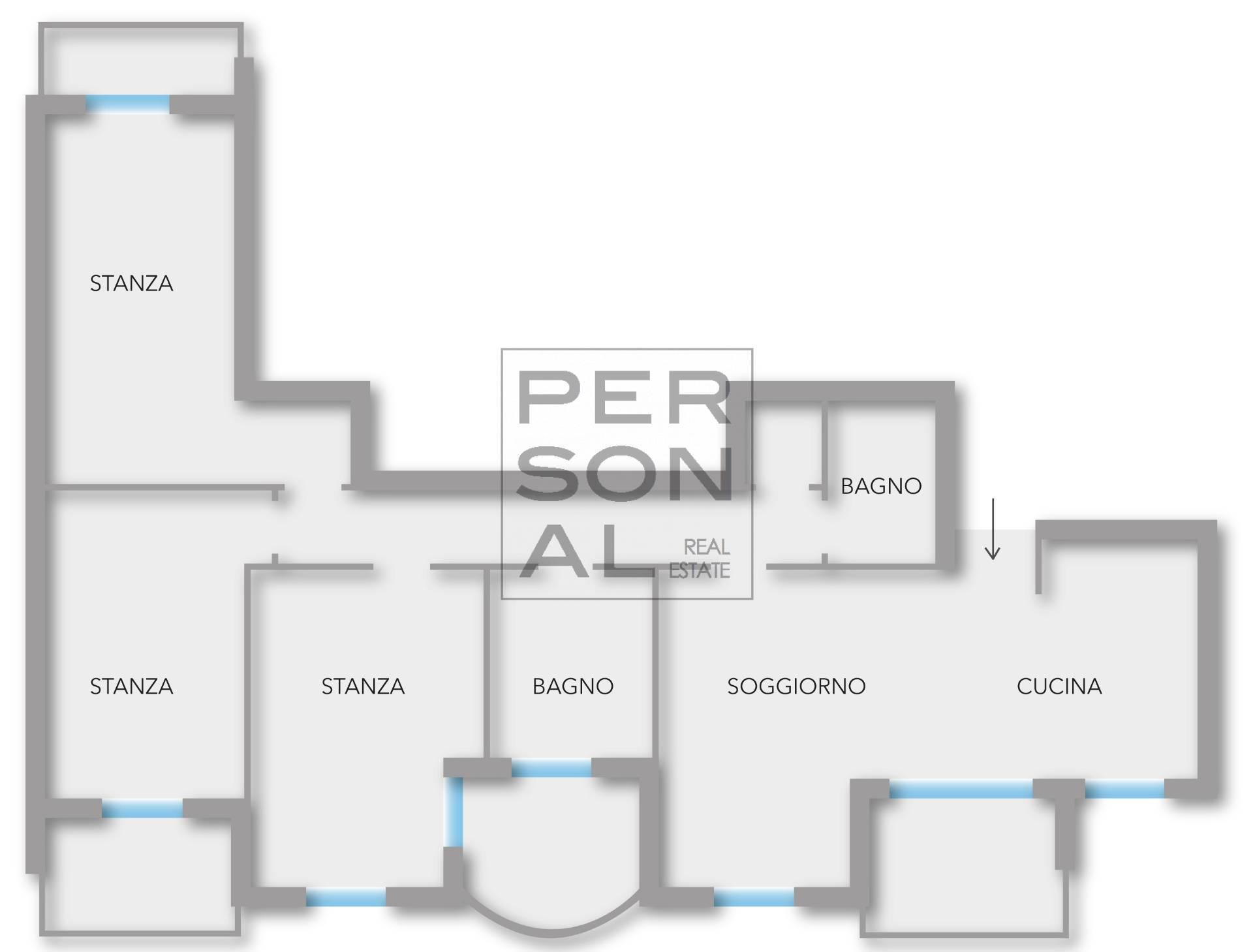 Appartamento in vendita a Calliano, 4 locali, prezzo € 290.000   CambioCasa.it