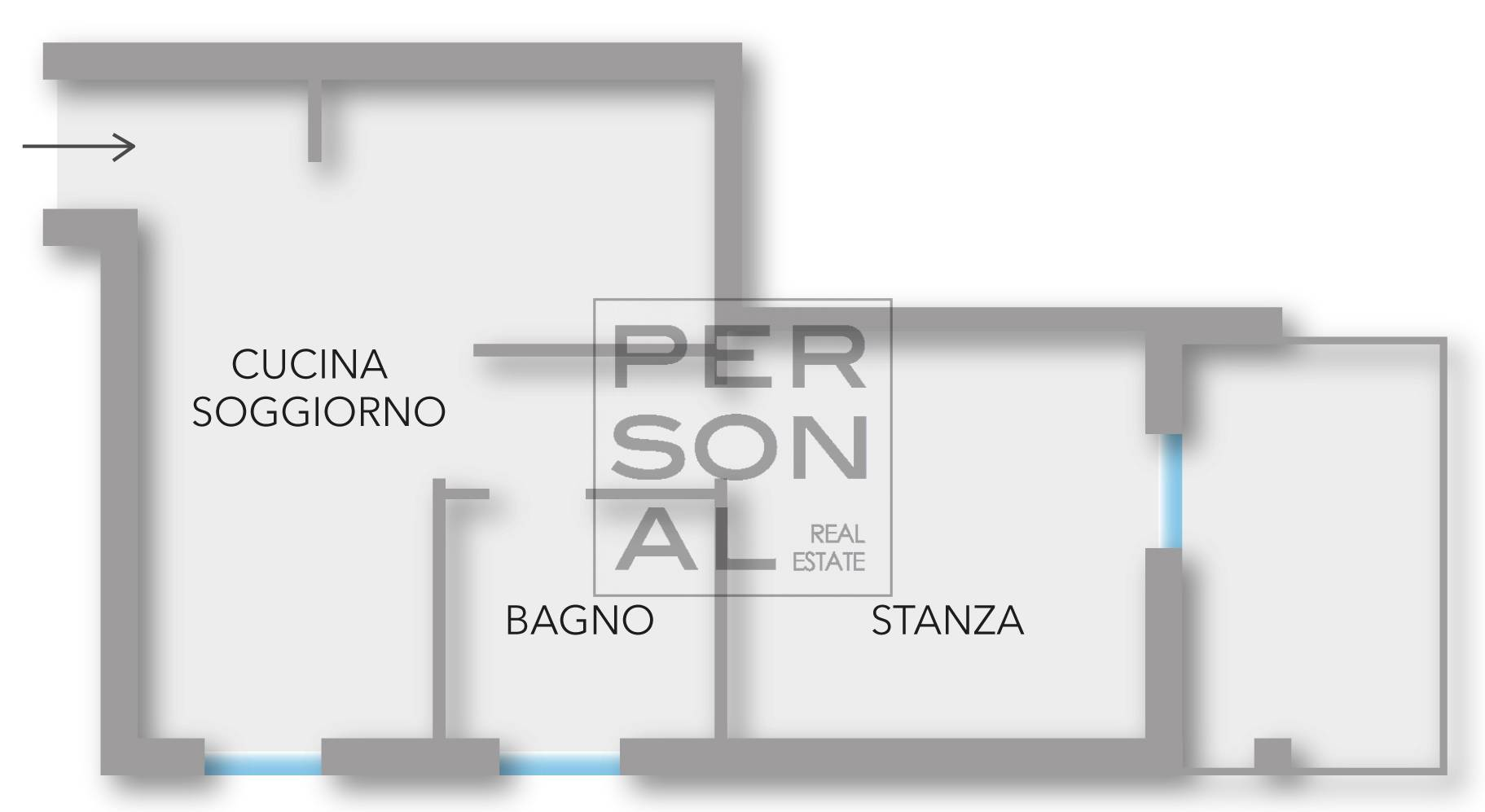 Appartamento in affitto a Pomarolo, 2 locali, prezzo € 450 | CambioCasa.it