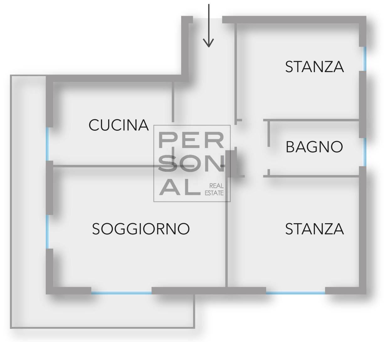 Appartamento in affitto a Rovereto, 5 locali, prezzo € 1.500   CambioCasa.it