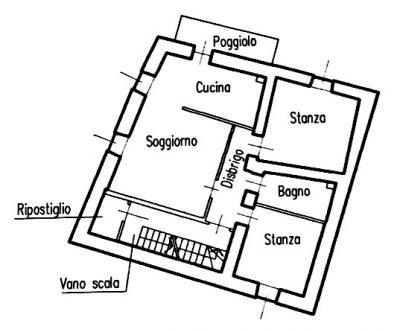Appartamento in Vendita a Telve di Sopra