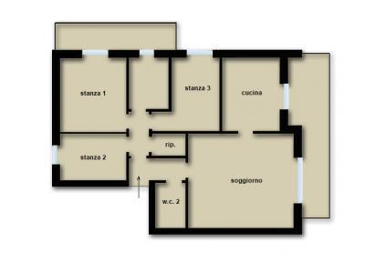 Appartamento in Vendita a Pergine Valsugana
