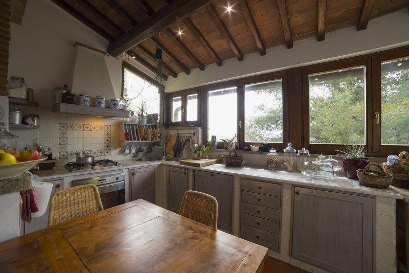 Two-family villa for Sale to Volterra Ref  159
