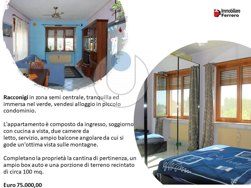 Apartment in Sell to Racconigi Code FER 1485