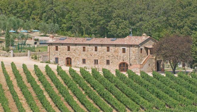 Farmhouse for Sale to Castellina in Chianti