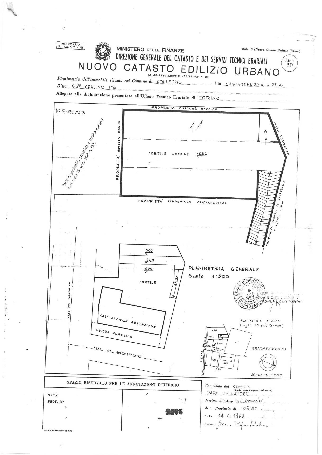 Box / Garage in vendita a Collegno, 1 locali, zona Località: BorgataParadiso, prezzo € 13.000   CambioCasa.it
