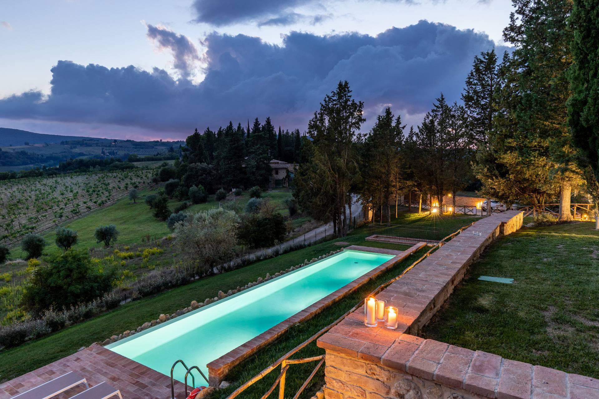 Appartamento in vendita a San Gimignano, 9 locali, zona Località: Campagna, prezzo € 964.000 | CambioCasa.it
