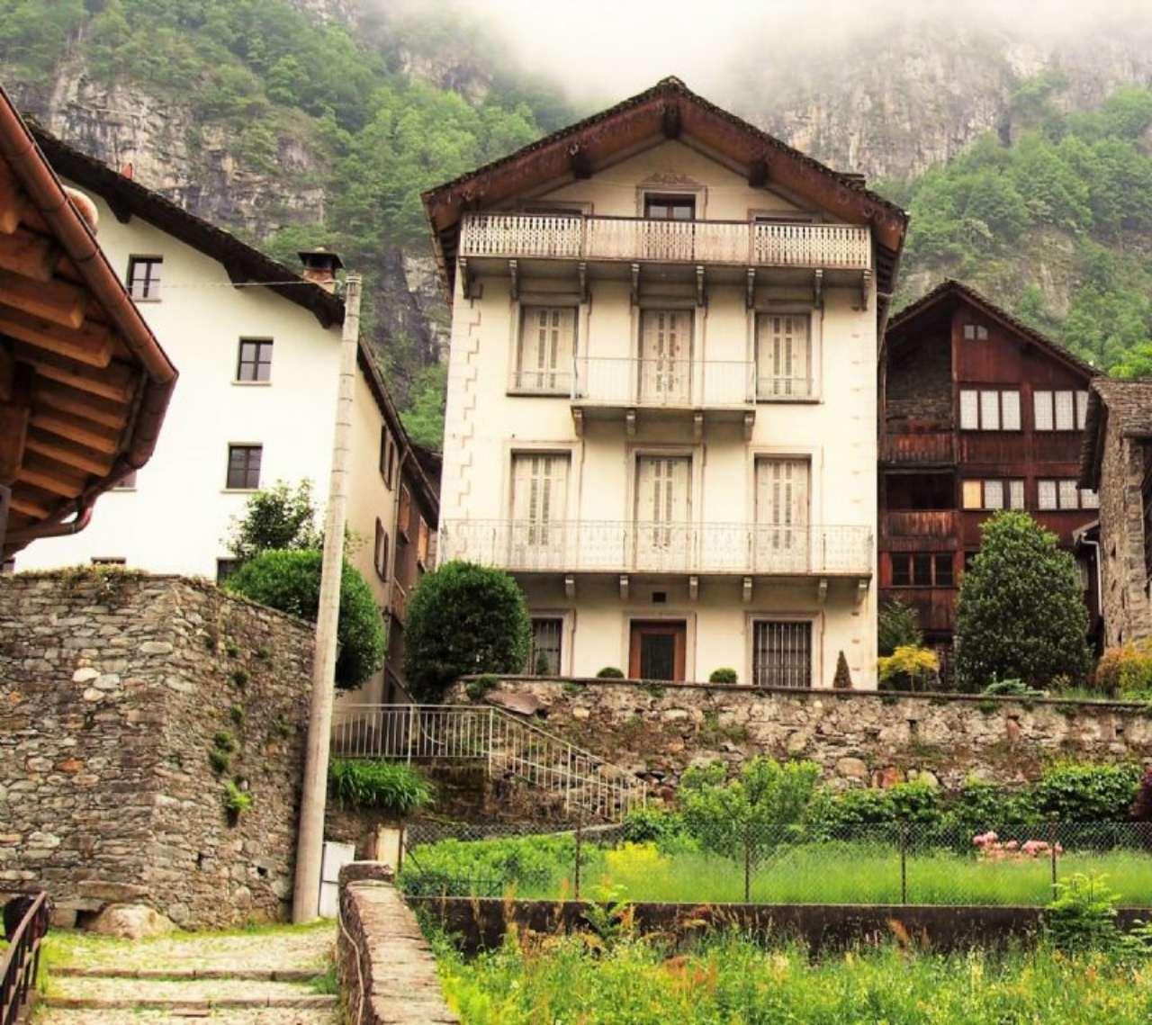 Casa indipendente in Vendita a Campertogno