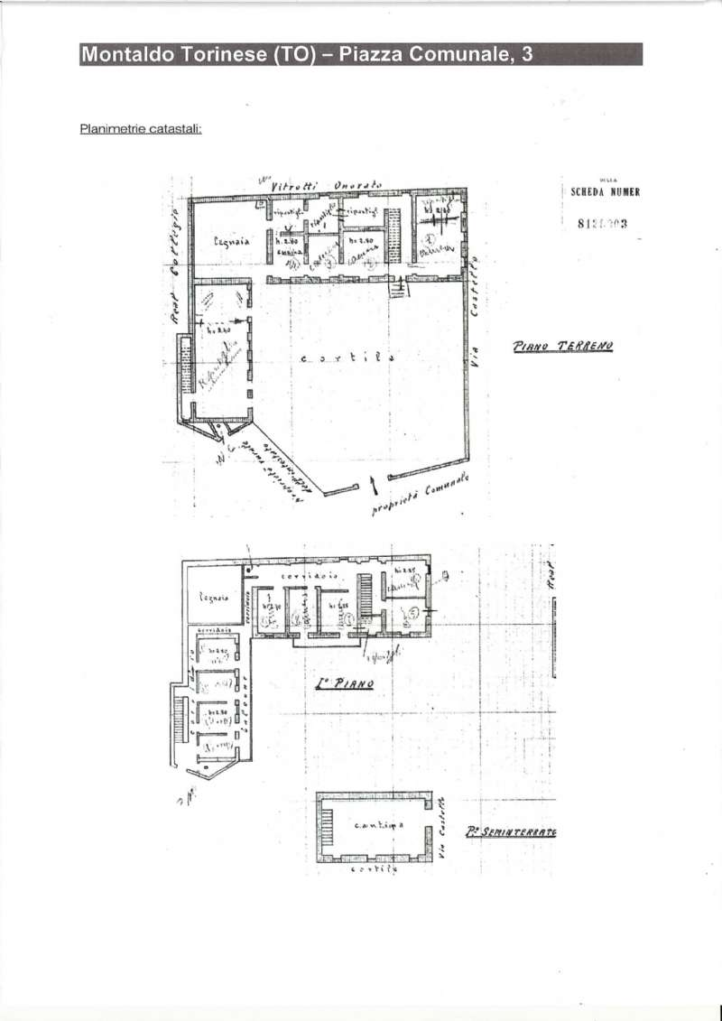 Stabile - Palazzo in Vendita a Montaldo Torinese