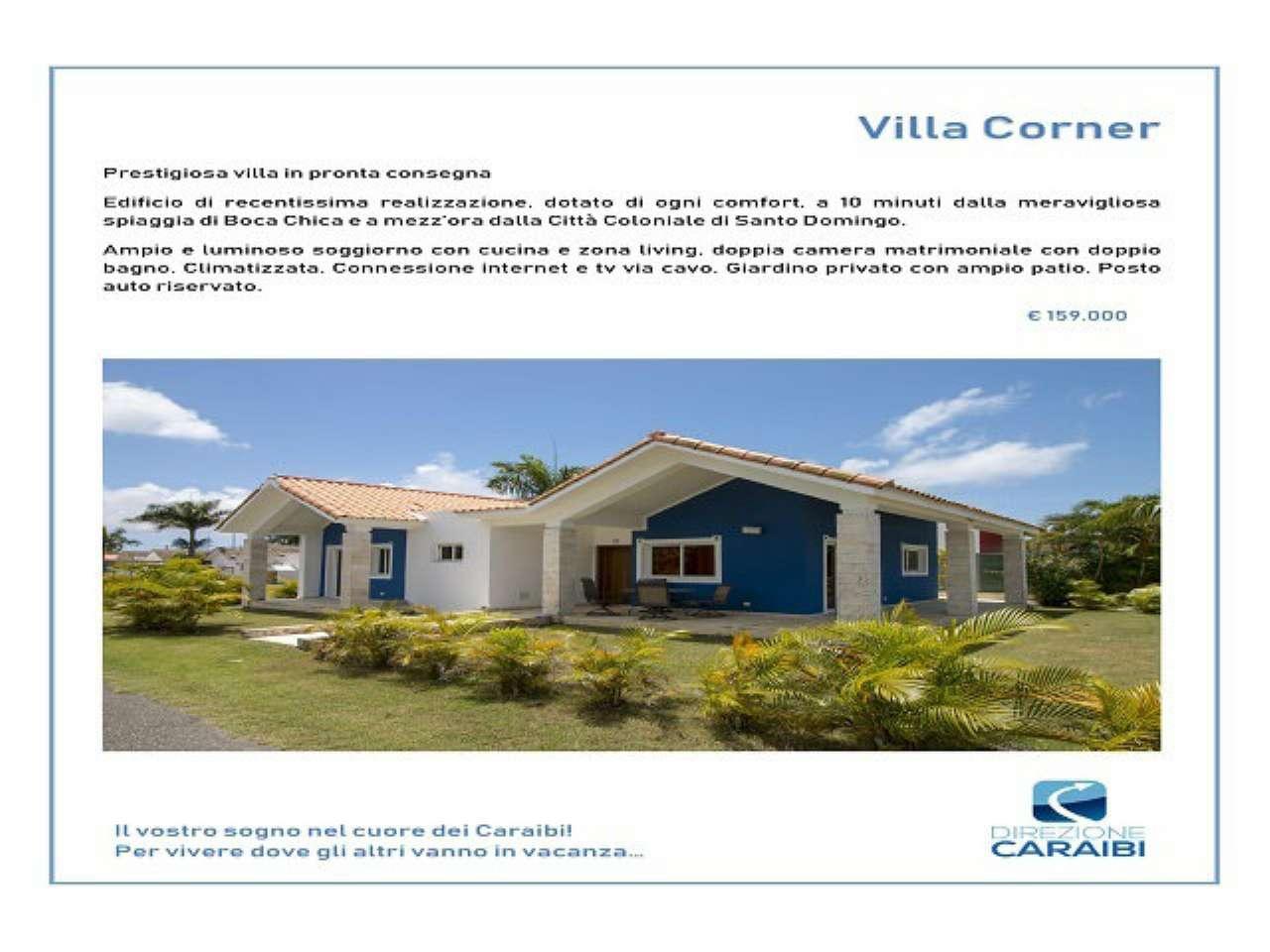 Villetta in Vendita a Boca Chica