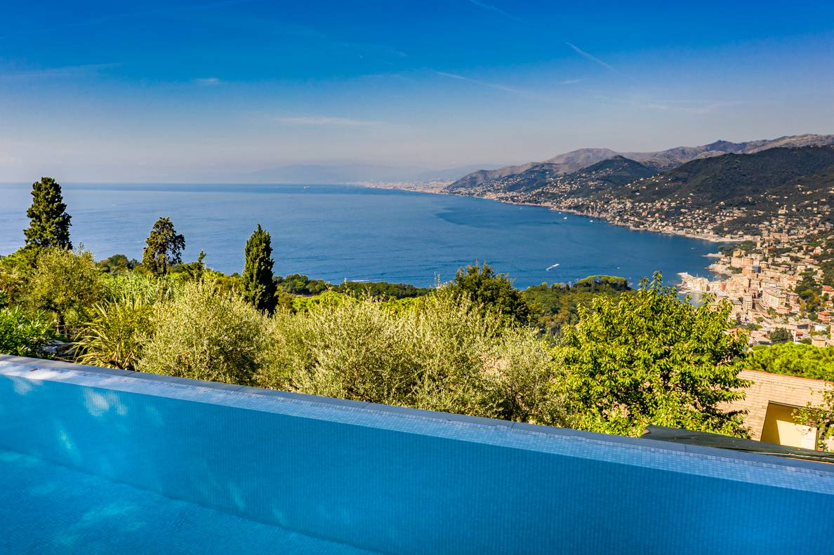 Villa in affitto a Camogli, 6 locali, zona Località: SanRocco, Trattative riservate | CambioCasa.it