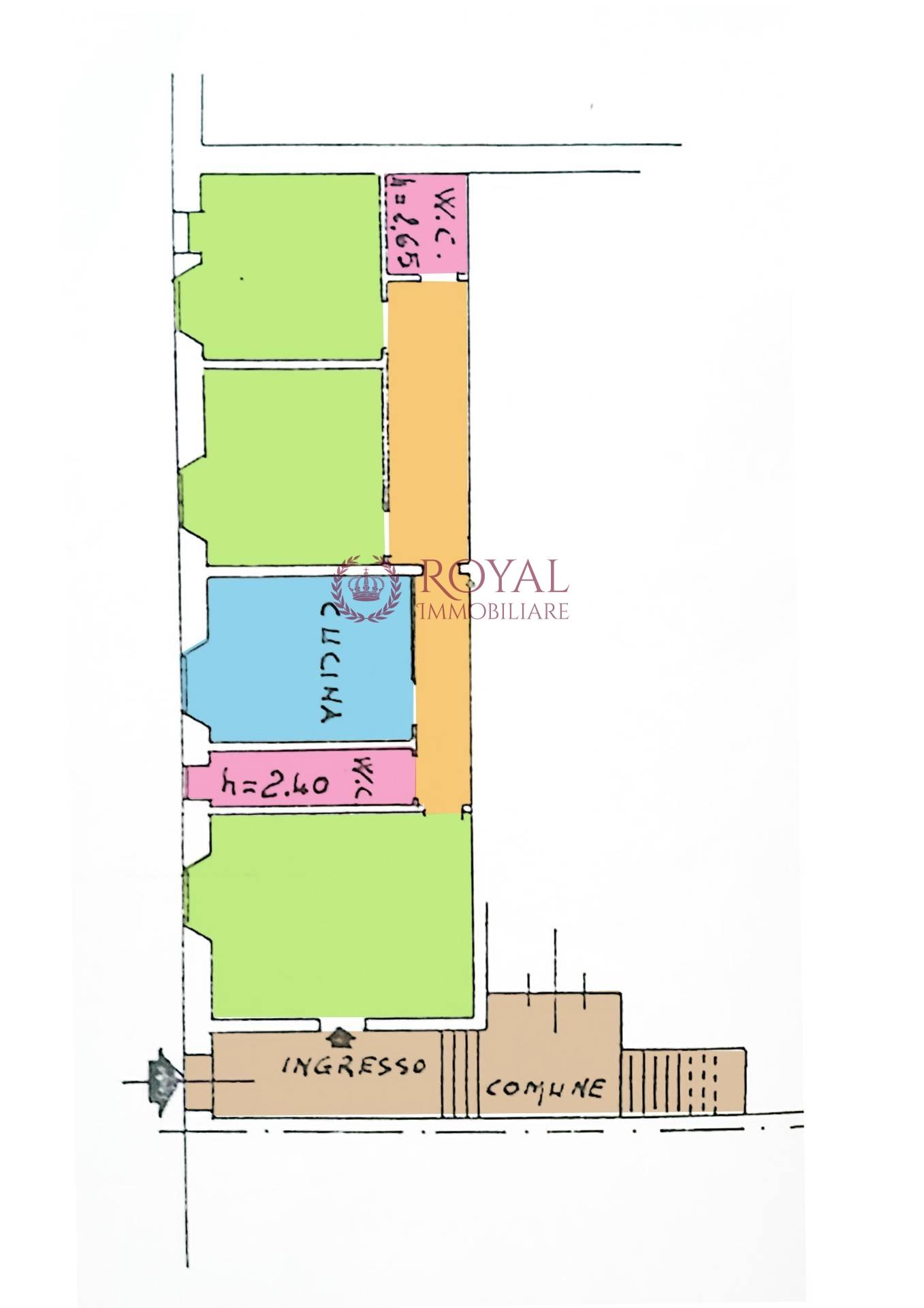 vendita appartamento livorno magenta  100000 euro  3 locali  90 mq