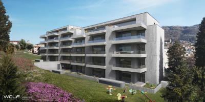 Appartamento con Giardino in Affitto a Vacallo
