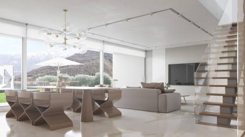 Attikawohnung / Penthouse zu Verkaufen in Vico Morcote
