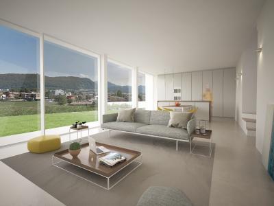 Appartamento con Giardino in Vendita a Agno
