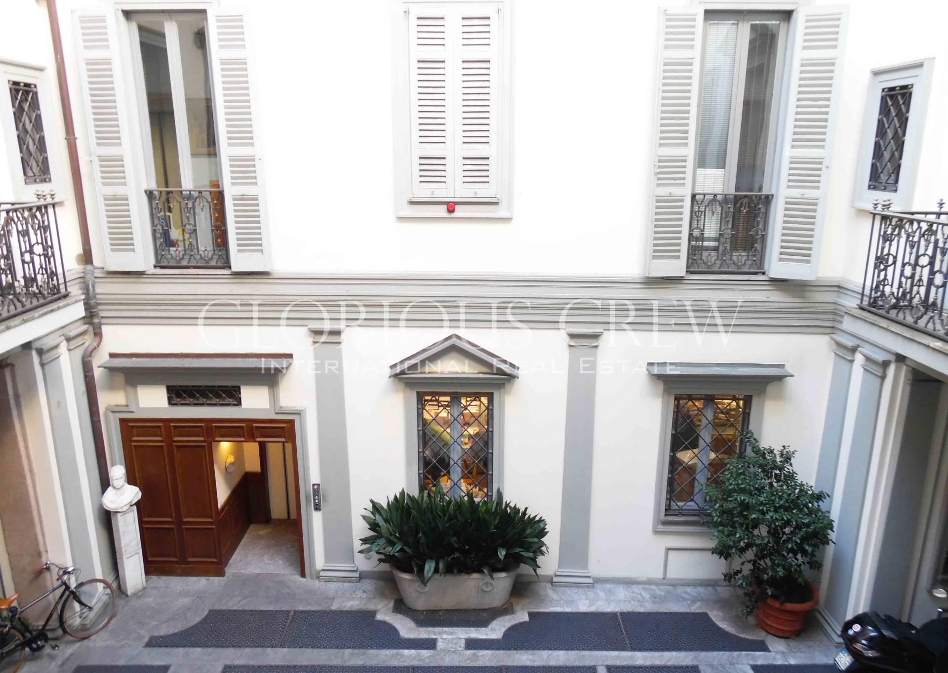 Negozio in affitto a Milano in Via Borgospesso
