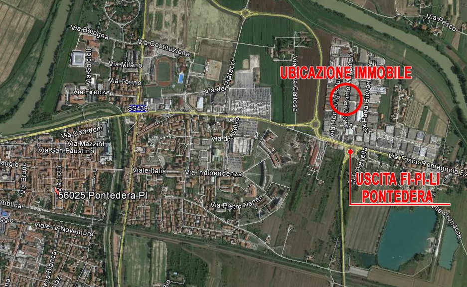 Capannone industriale in affitto, rif. 361-c