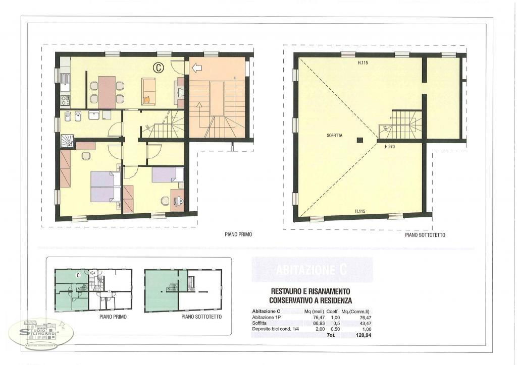 vendita appartamento modena marzaglia  178000 euro  4 locali  126 mq