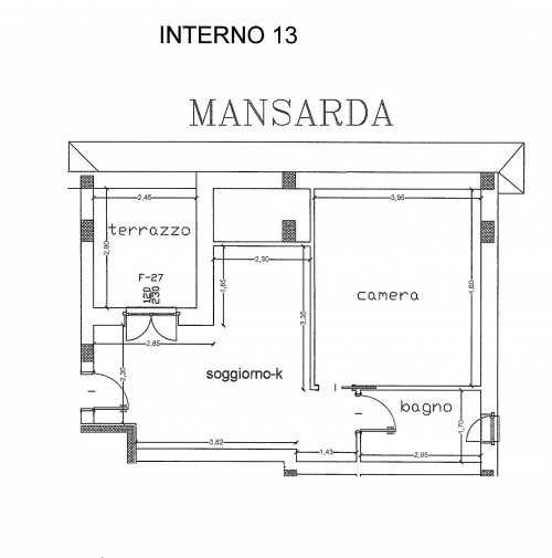 Attico/Mansarda in Vendita a Colonnella